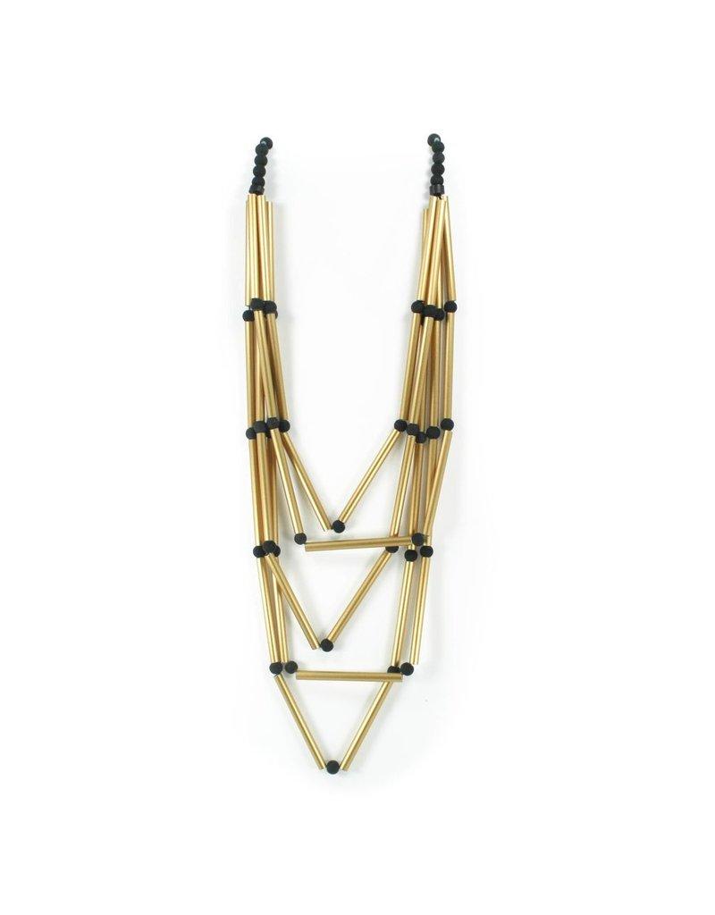 Christina Brampti Aluminium multi strand tube ball N