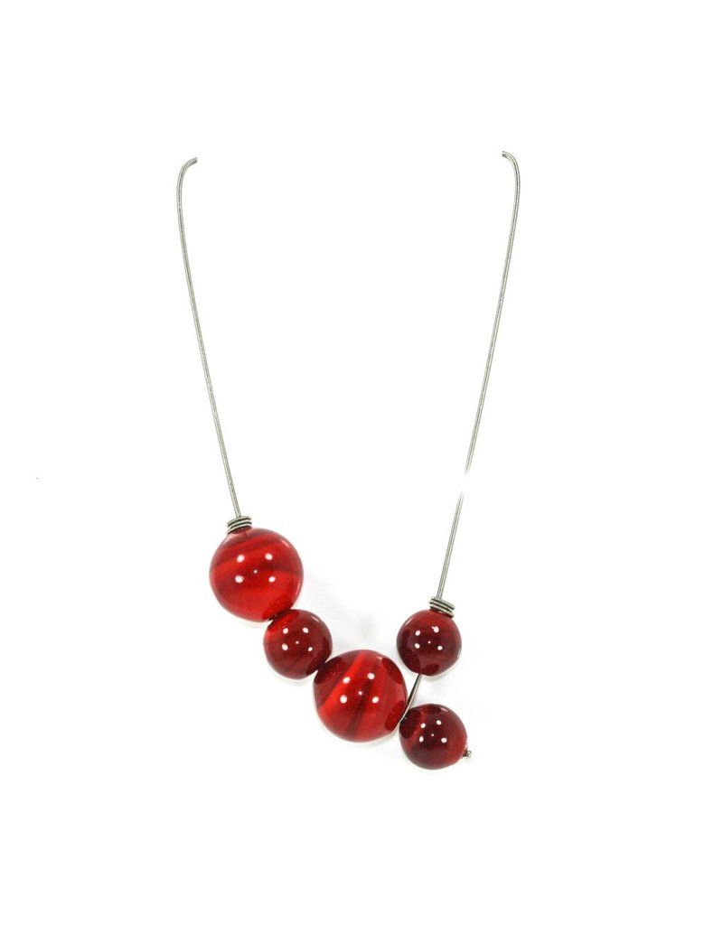 Jolly SOFC16 glass 5 ball pendant steel N