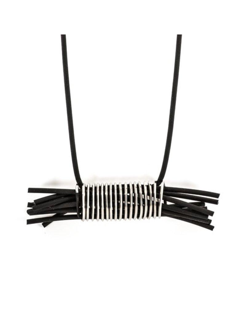 Marija Bajovska Long rubber multi strand coil N