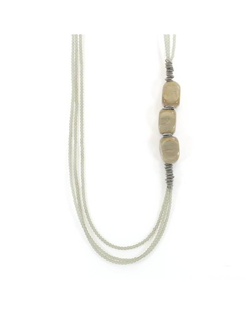 Jolly CIGAR C 9/RET glass bead 3 stone N