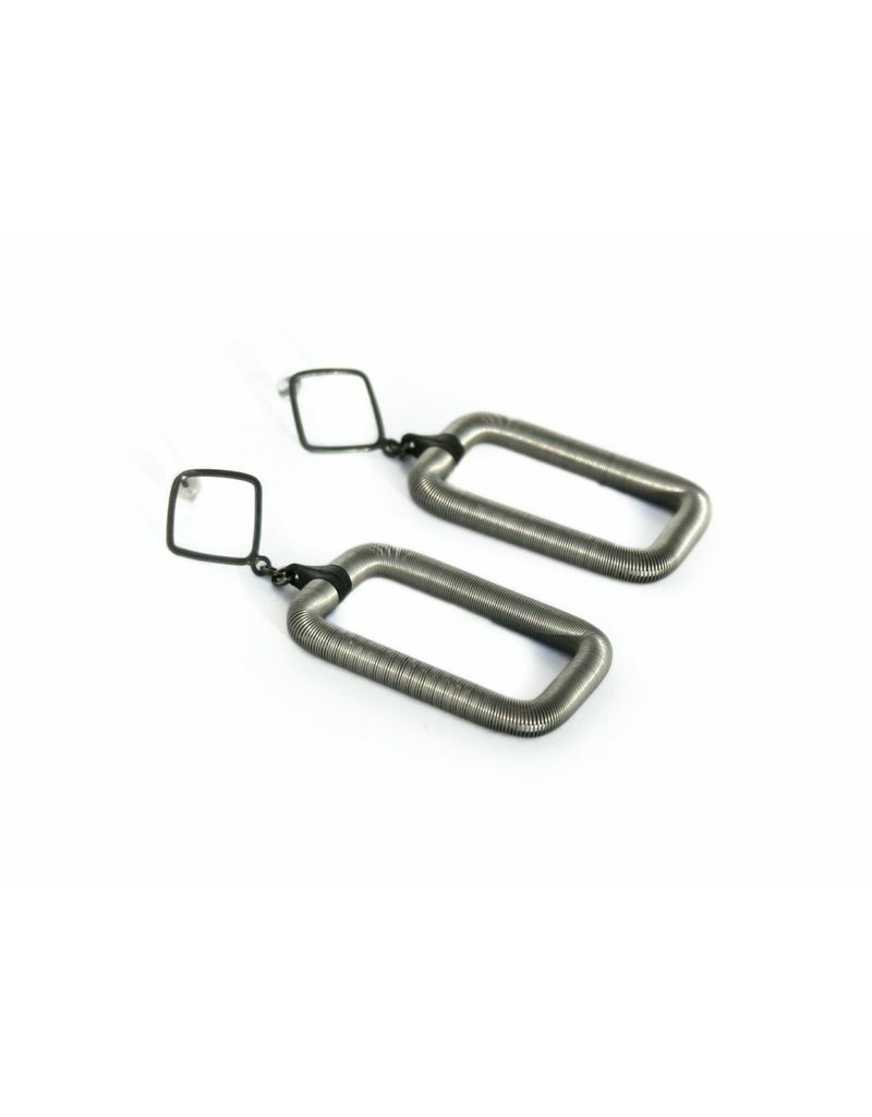 Industrial Jewellery QUADRAT steel spring E