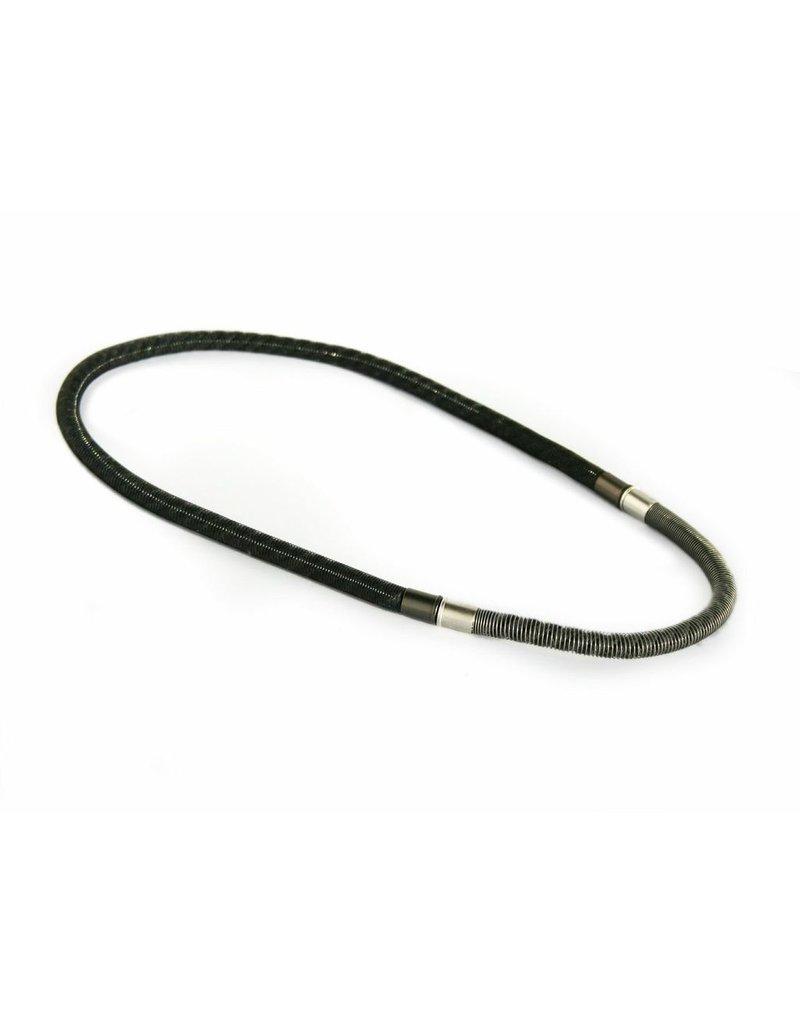 Industrial Jewellery ZADE cotton steel N