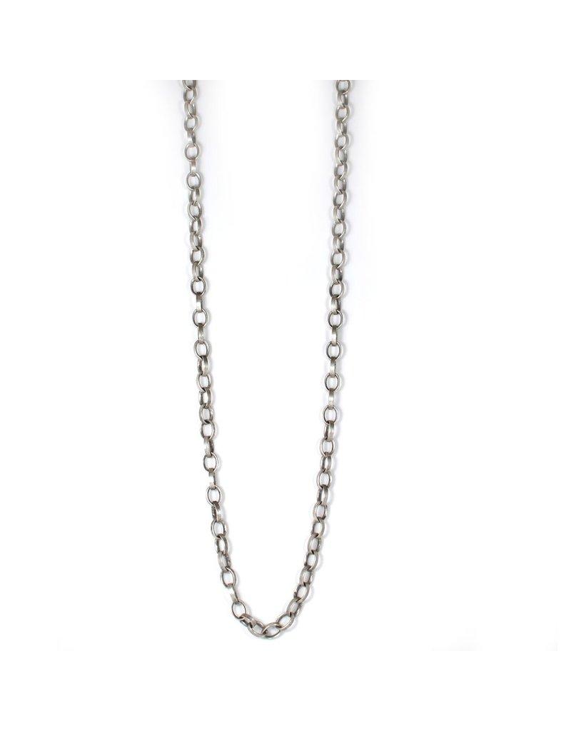 Carme Anglada Single silver chain long N