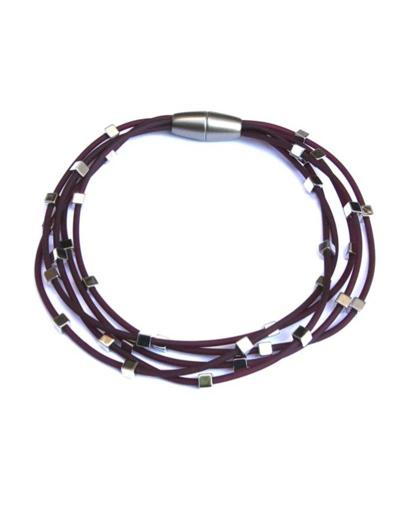 Materia Design SIRIO PVC plated brass cubes N