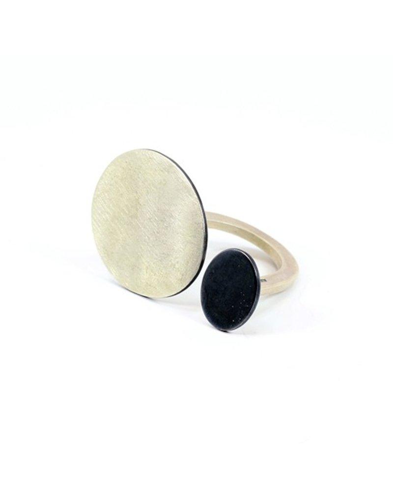 Aines PLACAS silver oxi oval R