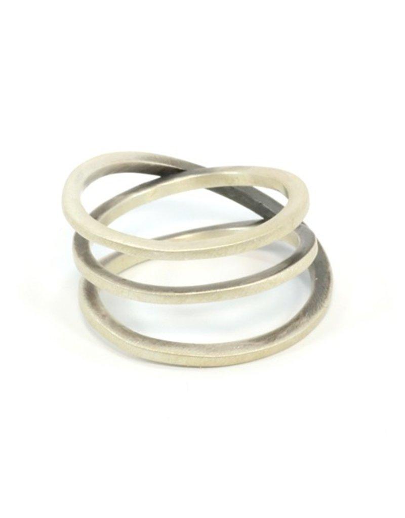 Aines MUELLE spiral silver R