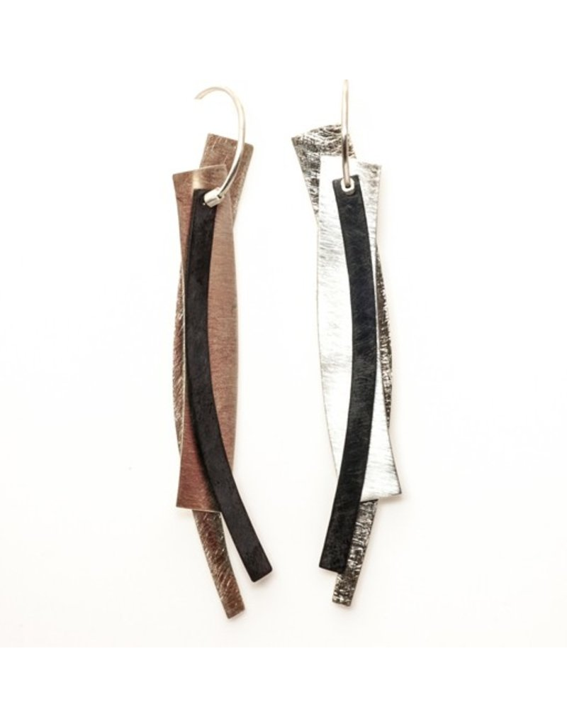 Aines PENDIENTES curved rectangle E