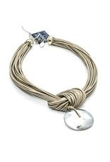 Carme Anglada Metal cotton pendant N
