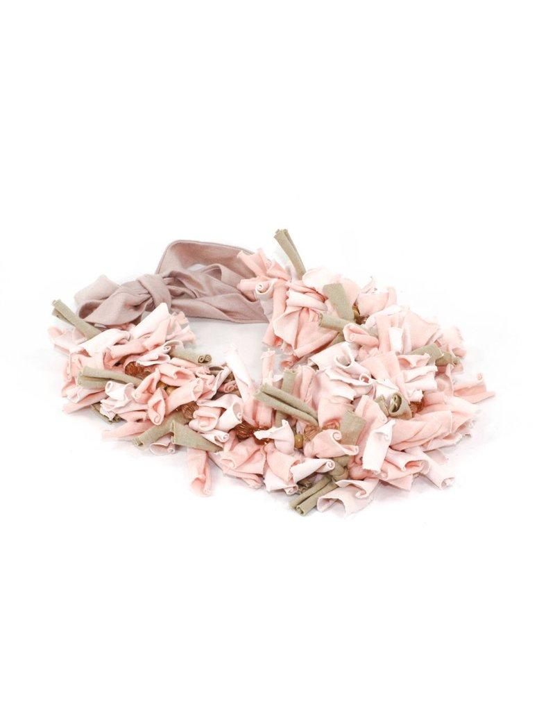MC1041 tshirt pink light pink stones N