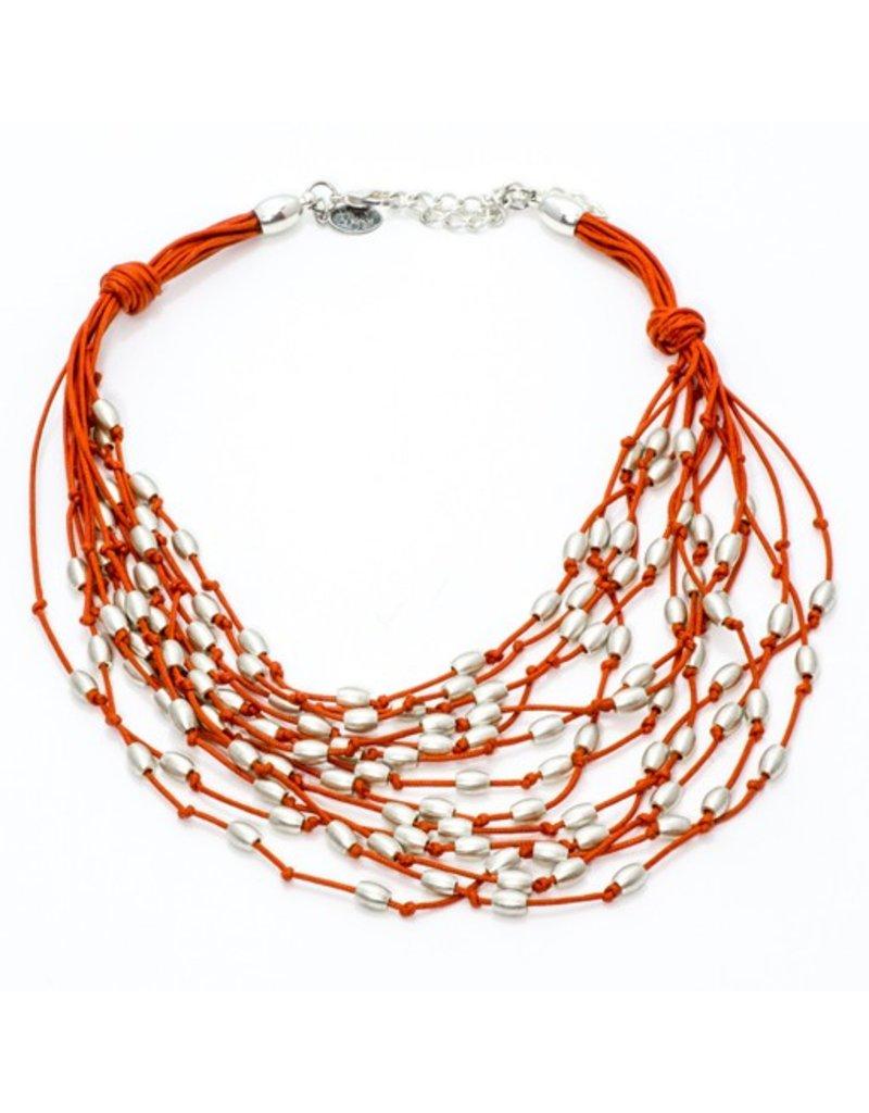 Carme Anglada Multi strand knot bead N