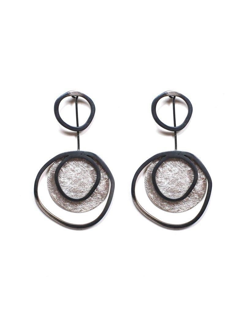 Aines OLAS three oxi circle silver disc E