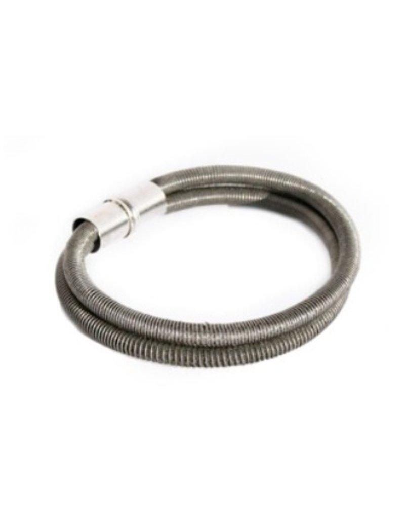 Industrial Jewellery FRANK rope steel double B