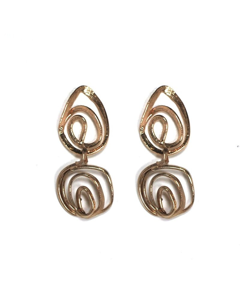 Iron by Miriam Nori Spiral drop brass E