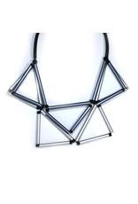 Christina Brampti Aluminium tube triangle N