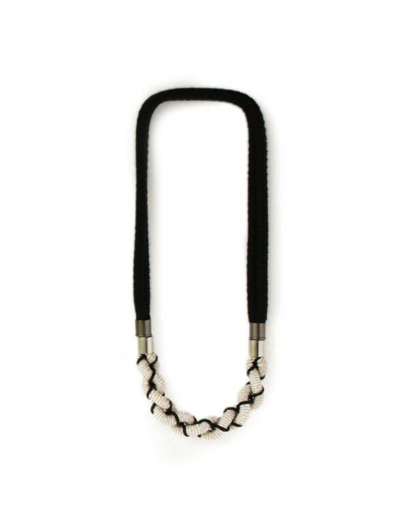 Industrial Jewellery MADISON rope steel twisted N