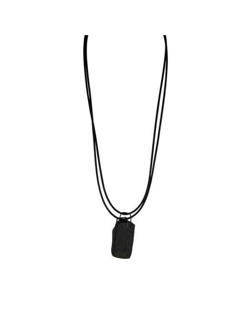 Marija Bajovska Concrete rectangle pendant N