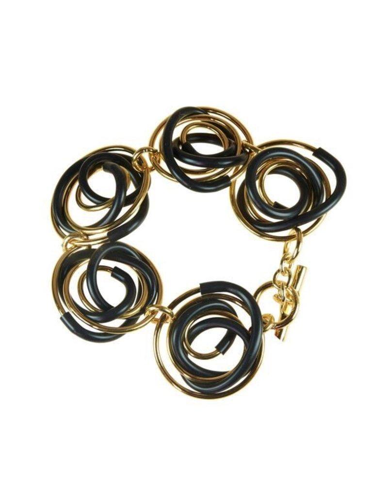 Iron by Miriam Nori Rubber brass spiral B
