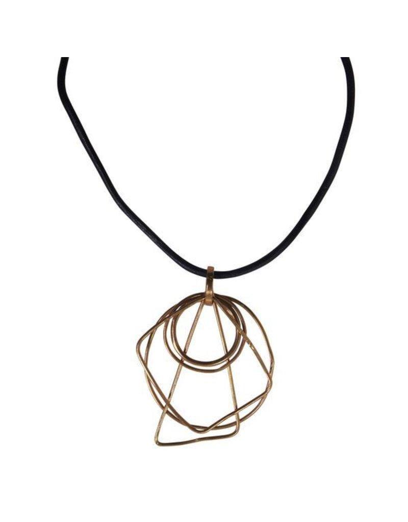 Iron by Miriam Nori Geometric shape Short N