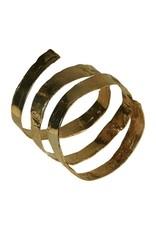 Iron by Miriam Nori Brass spiral B