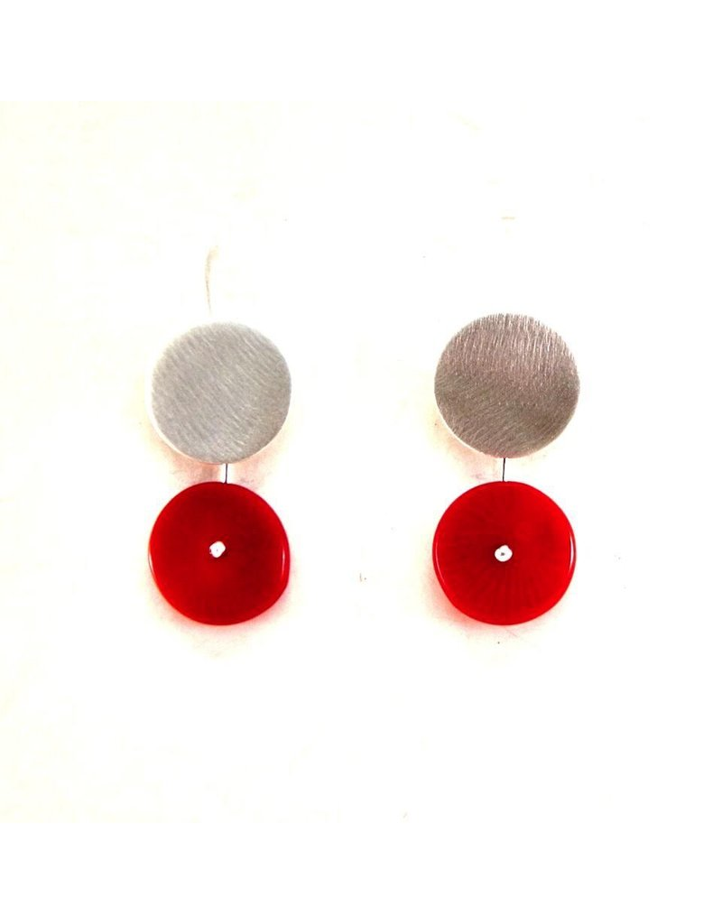 Aines Flat disk red drop E