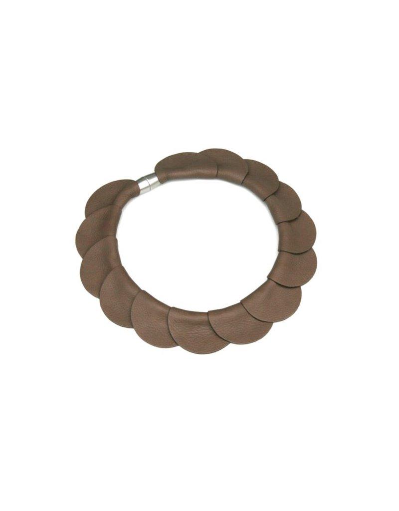 Materia Design FIORE PELLE circle leather N