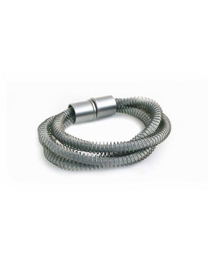 Industrial Jewellery JEAN rope steel spring B