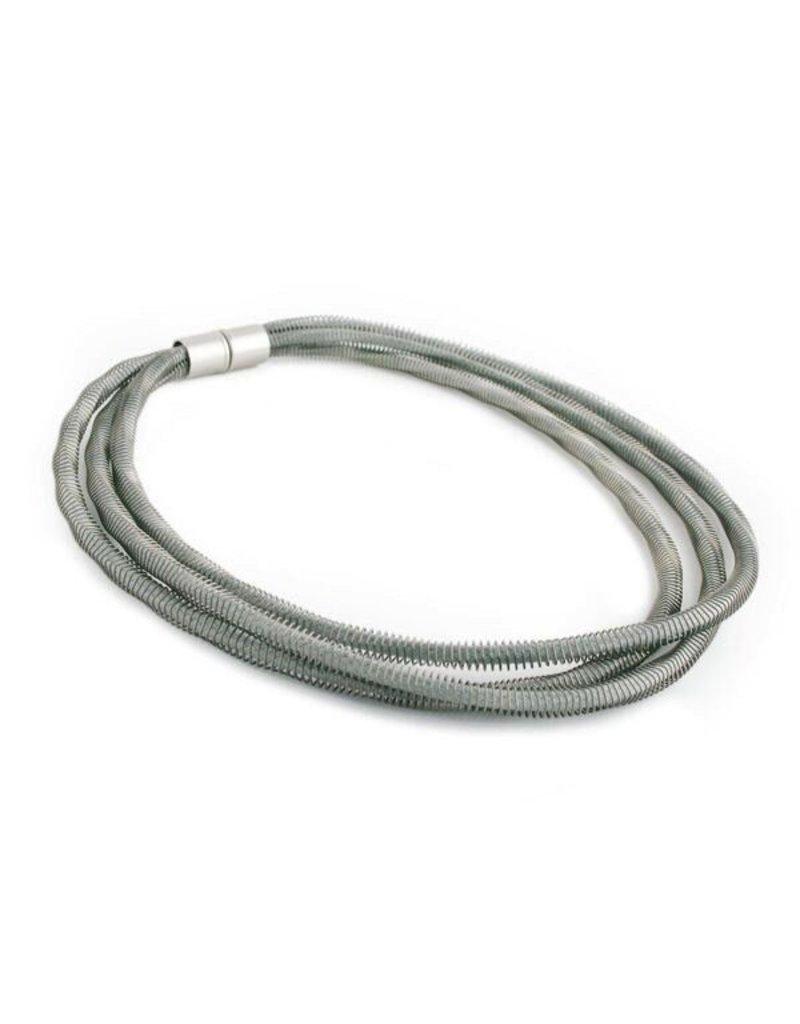 Industrial Jewellery JEAN rope steel spring N