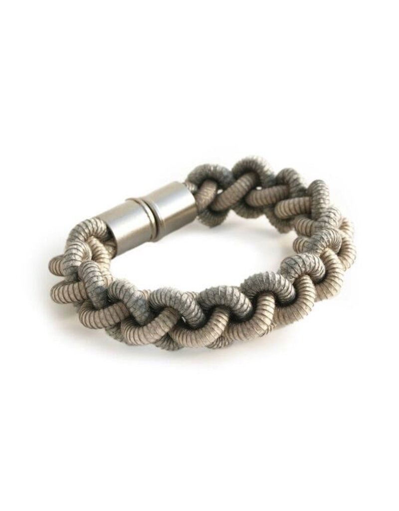Industrial Jewellery ANNA twist steel spring rope B