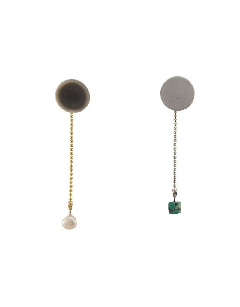 Aines Small disk pearl drop E