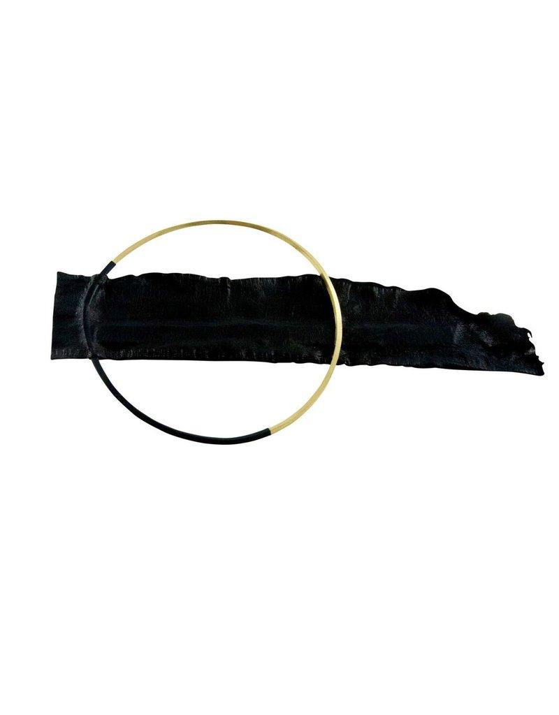 Marija Bajovska Circle eel skin BR