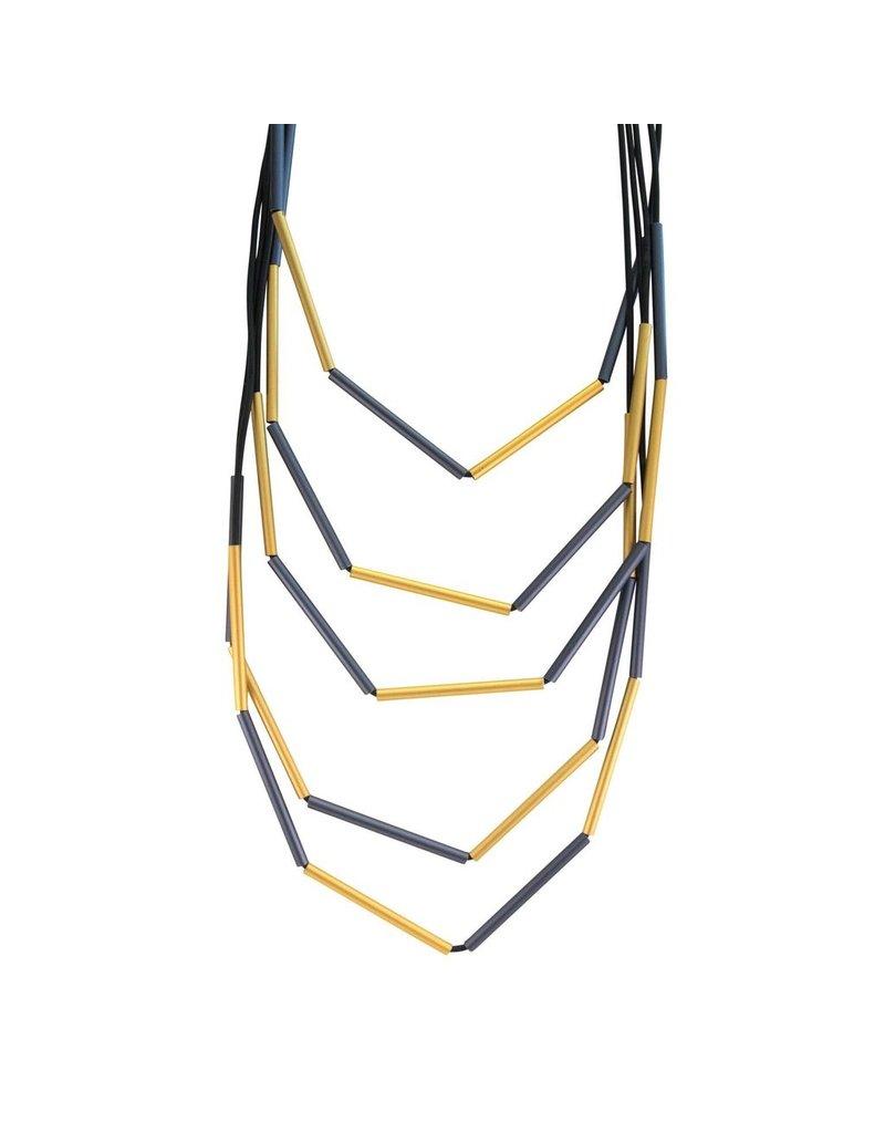 Christina Brampti Aluminium tube rubber long N