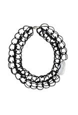 CARLA_M CATHYRUBBER rubber ring chain N