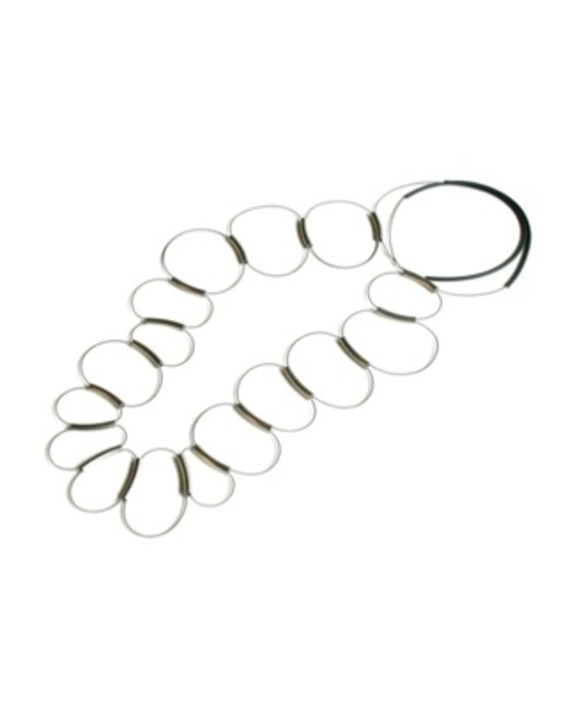 Materia Design BRIO FLY steel spring brass tube long N