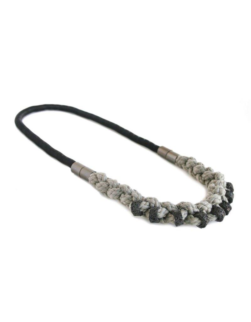 Industrial Jewellery ELLA steel spring rope coil N