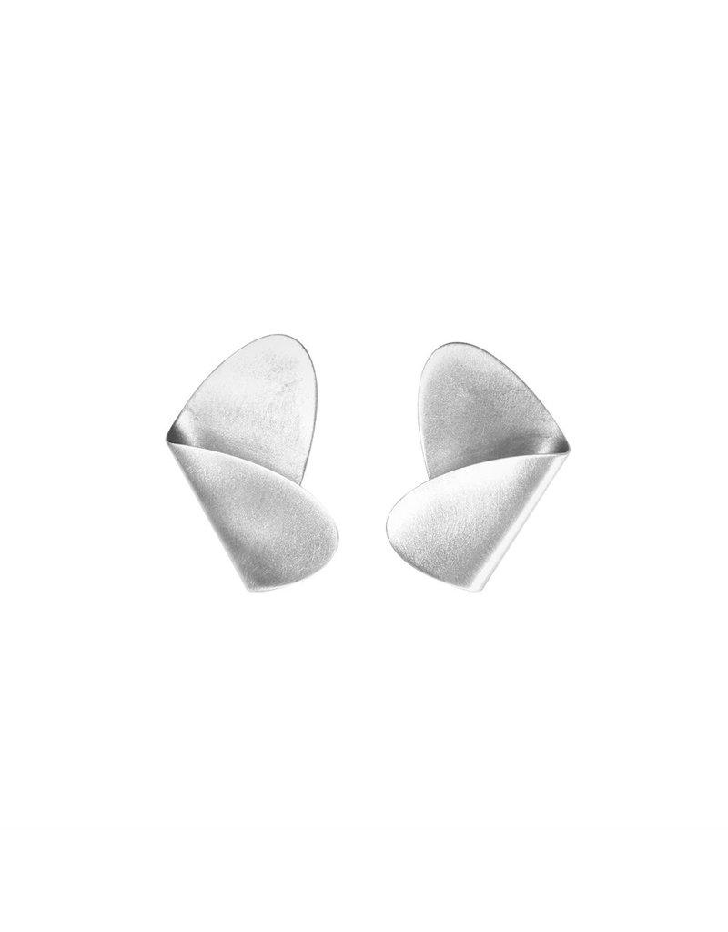 Aines Fold silver oval E