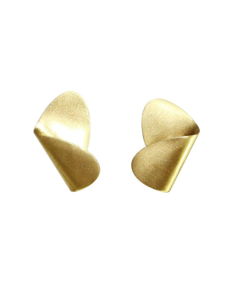 Aines Fold brass oval E