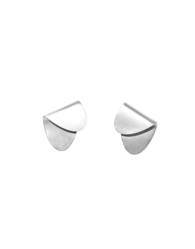 Aines Fold silver oval small E