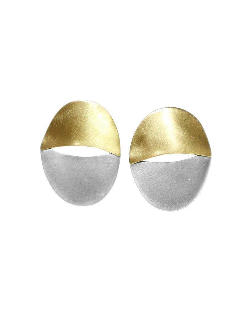 Aines Hollow brass oxi oval E