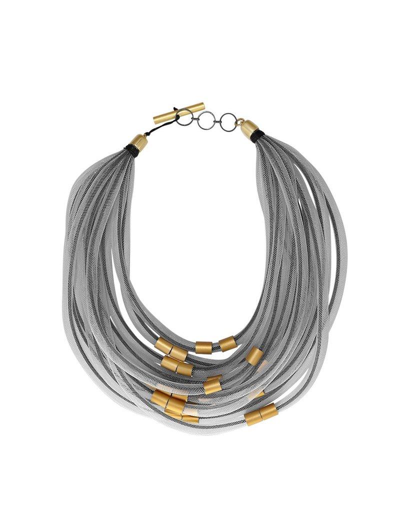 Christina Brampti Mesh rope aluminum small tube N