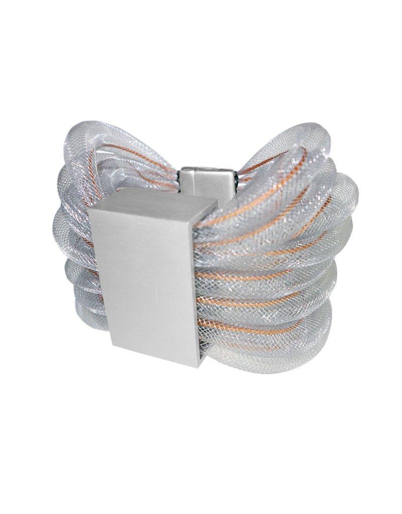 Christina Brampti Mesh cord rectangle large B