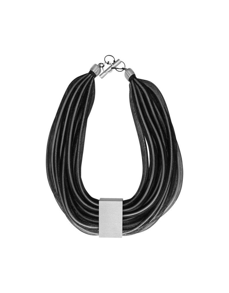 Christina Brampti Mesh rope aluminum large N
