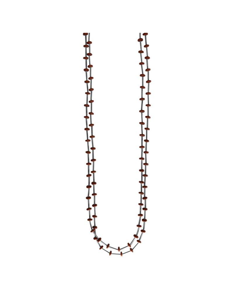 Jolly Steel flat bead glass long N