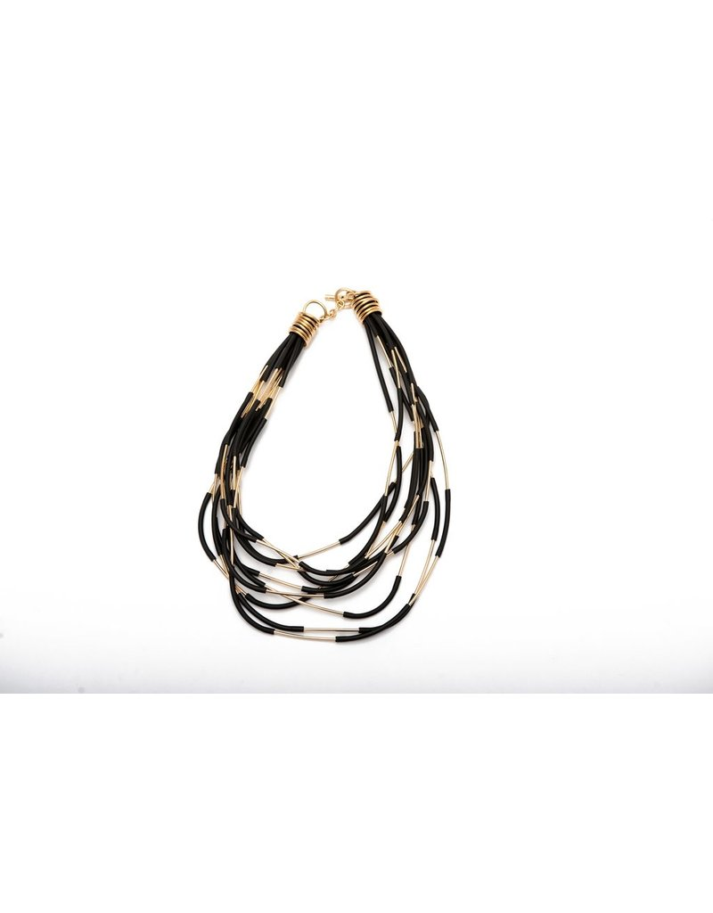 Iron by Miriam Nori PVC brass stick short N