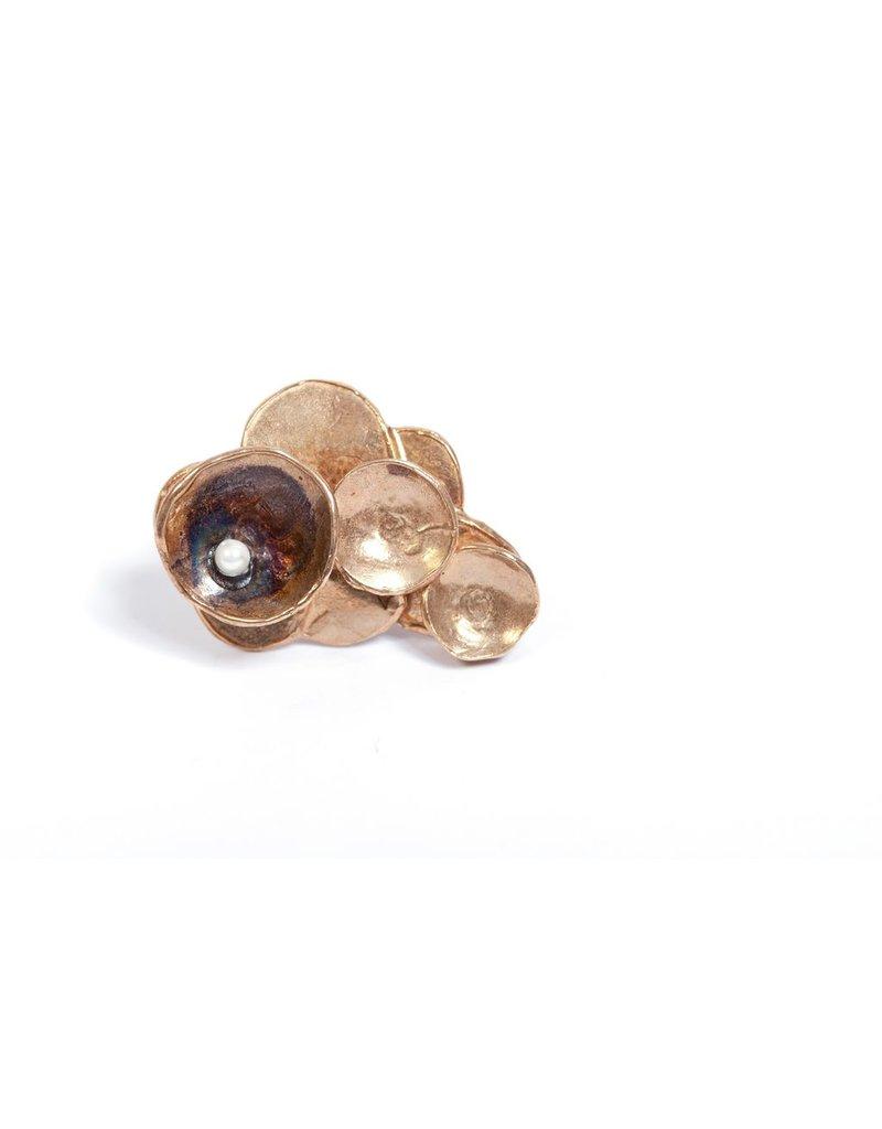 Iron by Miriam Nori FIABE pearl bronze R