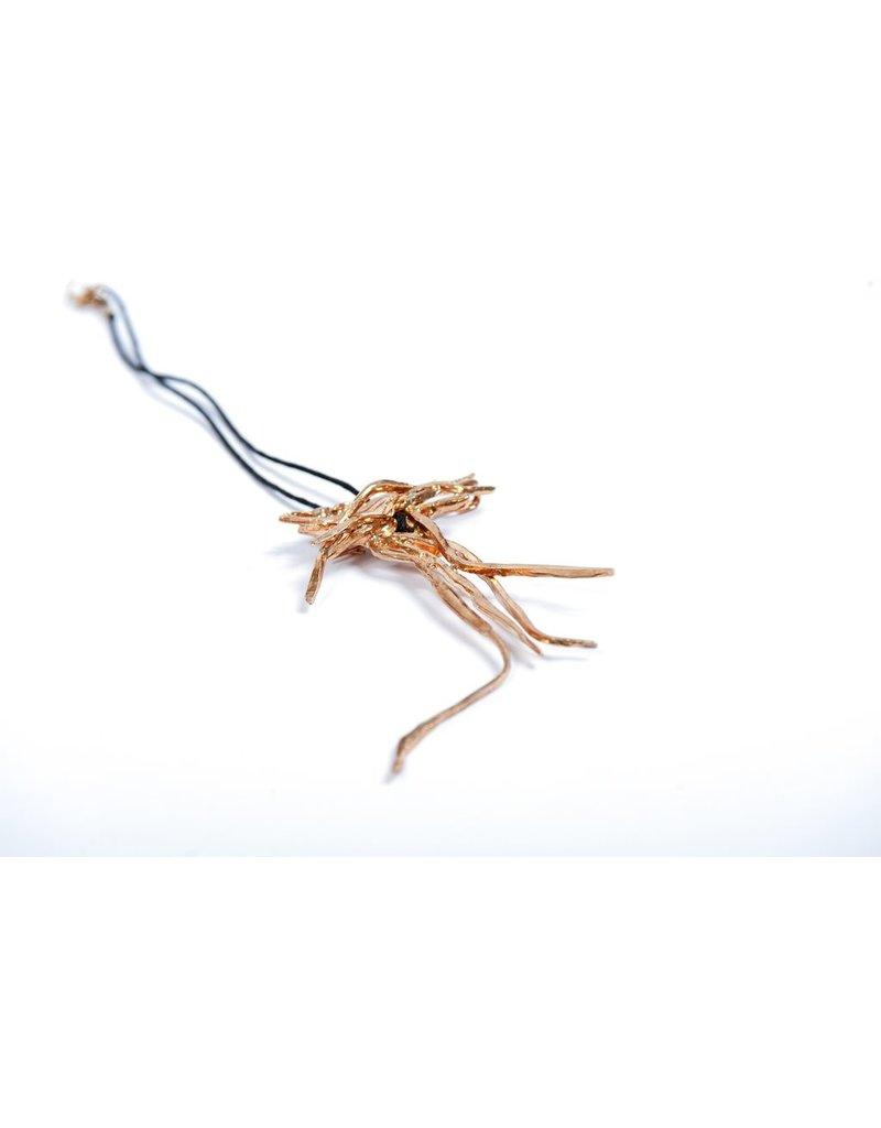 Iron by Miriam Nori GIAPPONE bronze cotton rope N