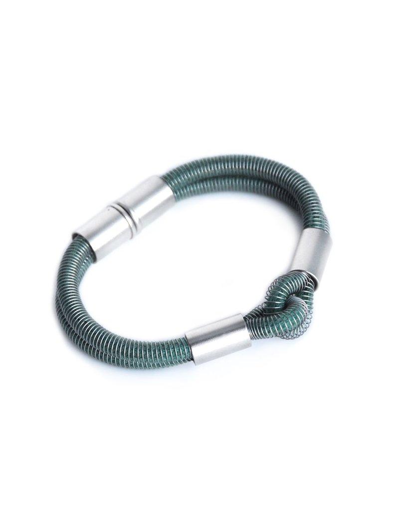 Industrial Jewellery PAVLINA knot B