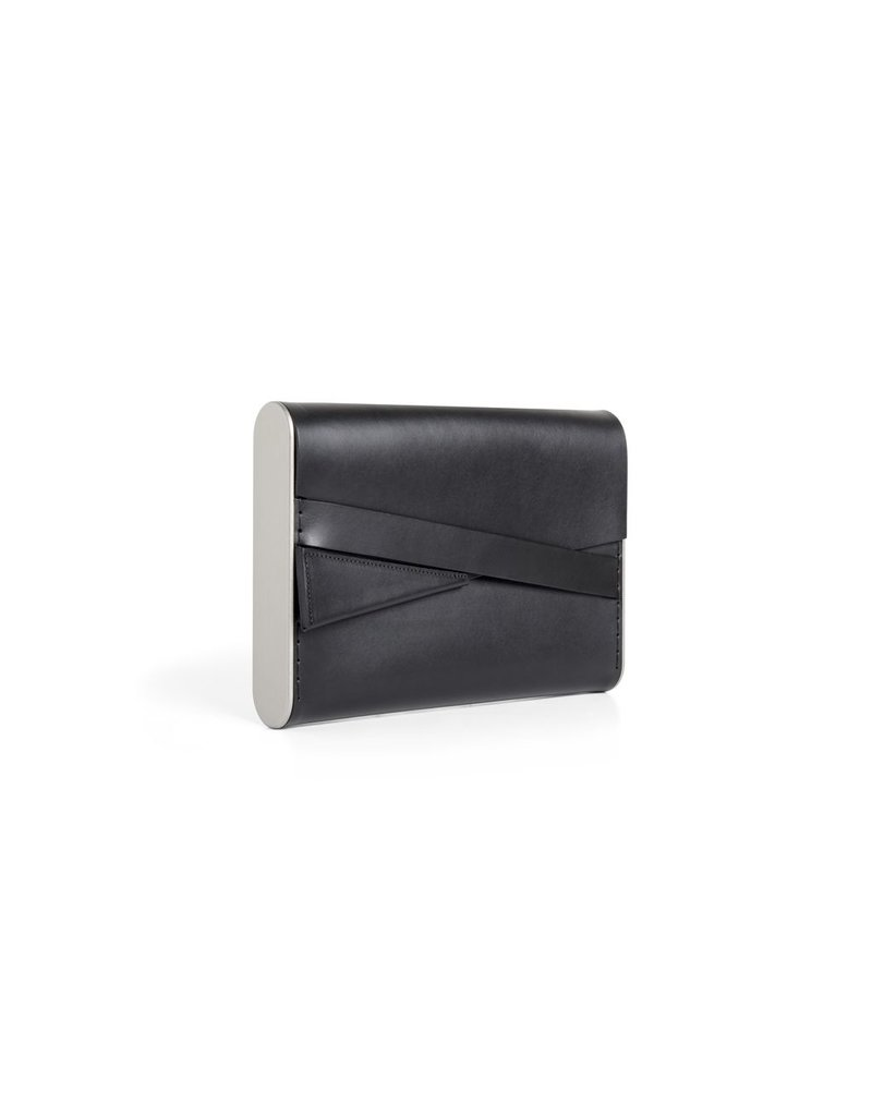 Industrial Jewellery CLUTCH leather BAG