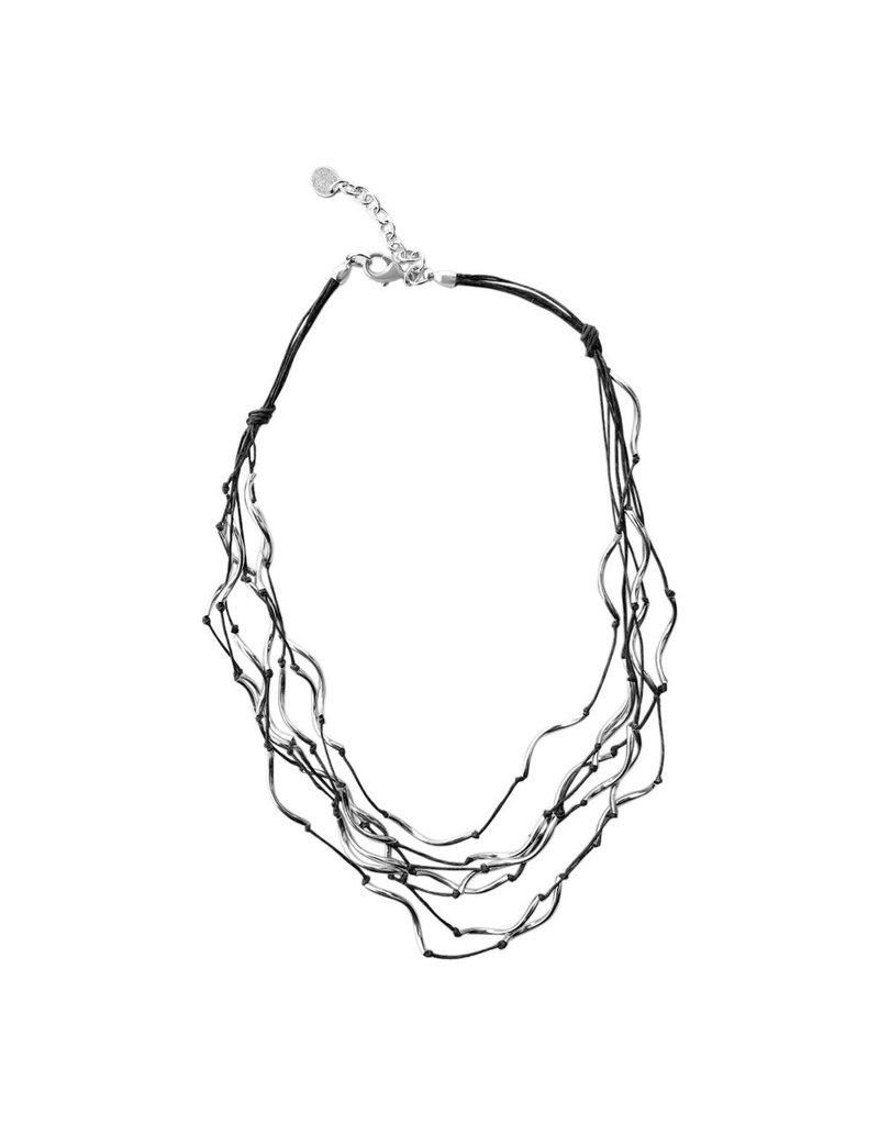 Carme Anglada Layer single strand metal short N