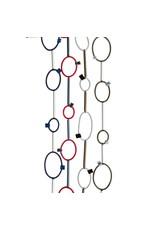Christina Brampti Cord suede loop aluminum tube N