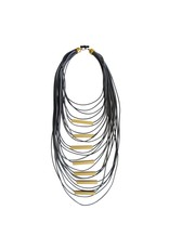 Christina Brampti Long aluminum tube cord N